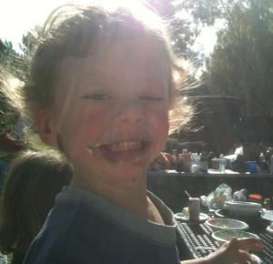Rowan in the sunshine