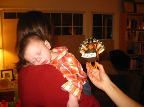 Rowan's first Thanksgiving