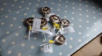 smiley chocolate lollipops delivered in Alyth, SCOTLAND. No need to explain how this reminds us of Rowan.